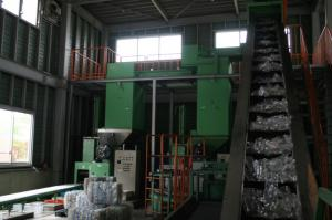Plastic bottle processing